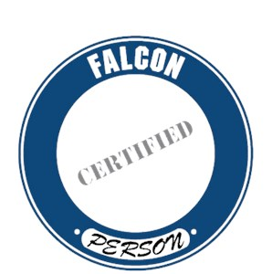 Falcon T-Shirt - Certified Person