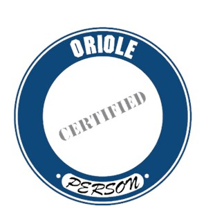 Oriole T-Shirt - Certified Person