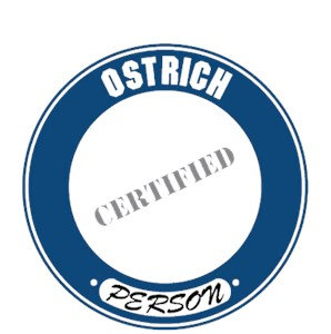 Ostrich T-Shirt - Certified Person