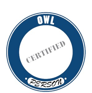 Owl T-Shirt - Certified Person