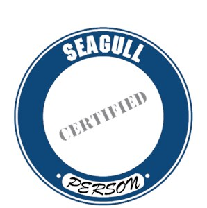 Seagull T-Shirt - Certified Person