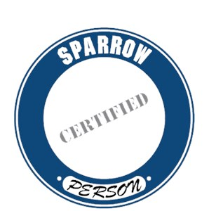 Sparrow T-Shirt - Certified Person