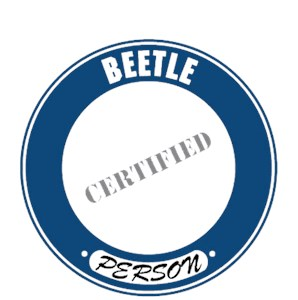 Beetle T-Shirt - Certified Person