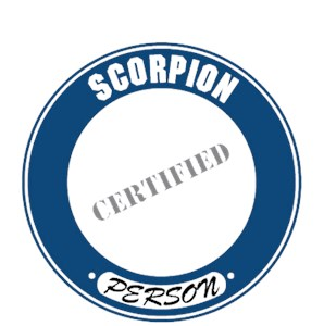 Scorpion T-Shirt - Certified Person