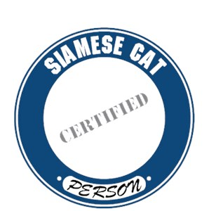 Siamese Cat T-Shirt - Certified Person