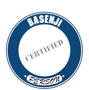 Basenji T-Shirt - Certified Person