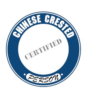 Chinese Crested T-Shirt - Certified Person