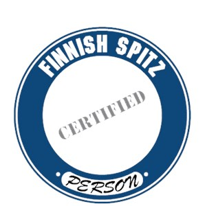 Finnish Spitz T-Shirt - Certified Person