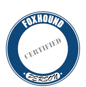 Foxhound T-Shirt - Certified Person