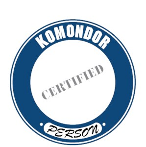 Komondor T-Shirt - Certified Person