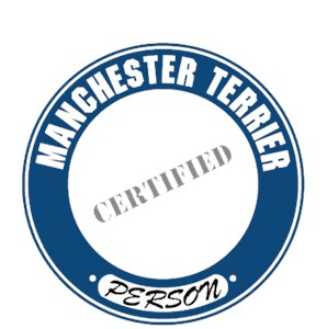 Manchester Terrier T-Shirt - Certified Person