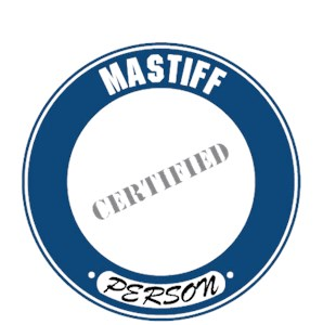 Mastiff T-Shirt - Certified Person