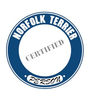 Norfolk Terrier T-Shirt - Certified Person