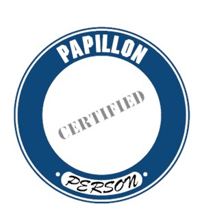 Papillon T-Shirt - Certified Person