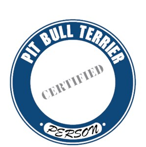 Pit Bull Terrier T-Shirt - Certified Person