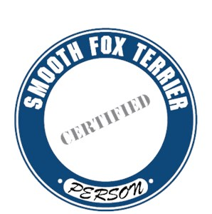 Smooth Fox Terrier T-Shirt - Certified Person