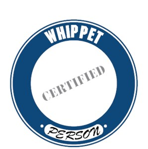 Whippet T-Shirt - Certified Person