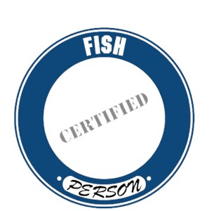 Fish T-Shirt - Certified Person