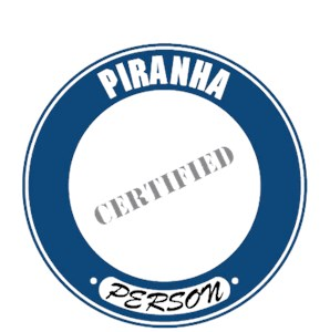 Piranha T-Shirt - Certified Person