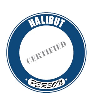 Halibut T-Shirt - Certified Person