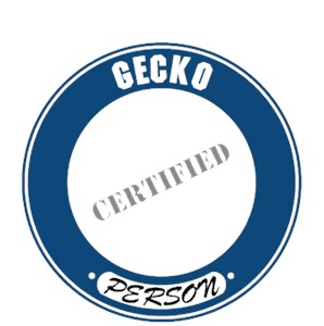 Gecko T-T-Shirt - Certified Person