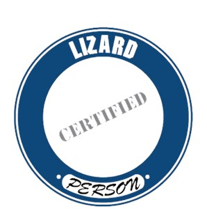 Lizard T-Shirt - Certified Person