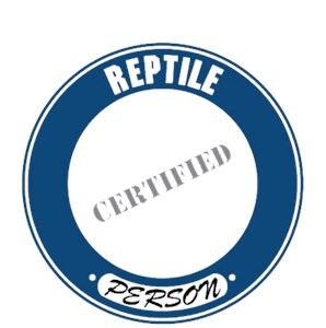 Reptile T-Shirt - Certified Person