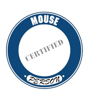 Mouse T-Shirt - Certified Person