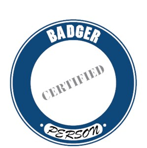 Badger T-Shirt - Certified Person