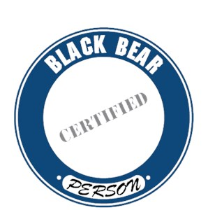 Black Bear T-Shirt - Certified Person