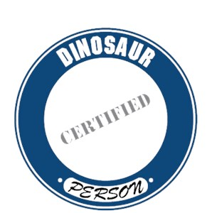 Dinosaur T-Shirt - Certified Person