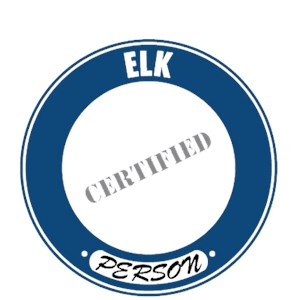 Elk T-Shirt - Certified Person