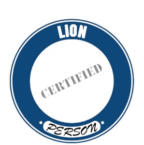 Lion T-Shirt - Certified Person