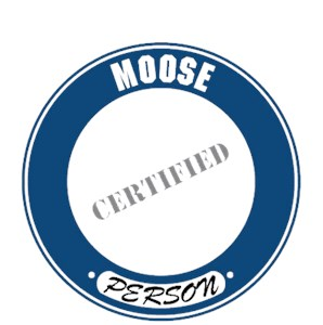 Moose T-Shirt - Certified Person