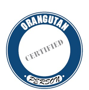 Orangutan T-Shirt - Certified Person