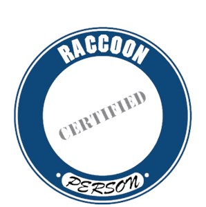 Raccoon T-Shirt - Certified Person