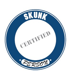 Skunk T-Shirt - Certified Person