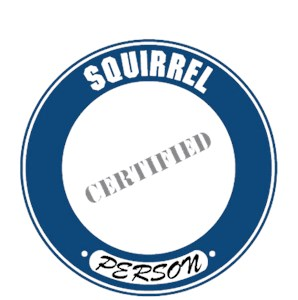 Squirrel T-Shirt - Certified Person
