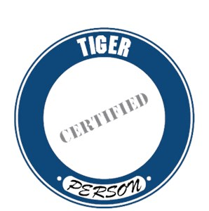 Tiger T-Shirt - Certified Person