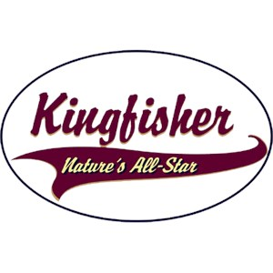 Kingfisher T-Shirt - Breed of Champions