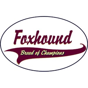 Foxhound T-Shirt - Breed of Champions