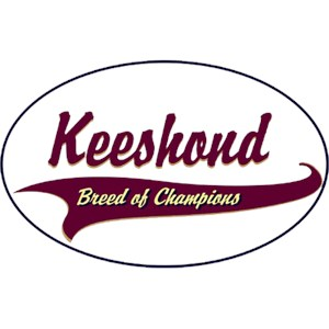 Keeshond T-Shirt - Breed of Champions