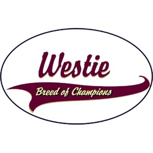 West Highland Terrier T-Shirt - Breed of Champions