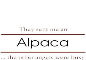 Alpaca T-Shirt - Other Angels