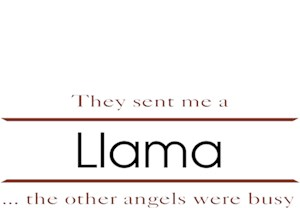 Llama T-Shirt - Other Angels