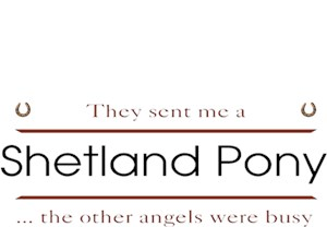 Shetland Pony T-Shirt - Other Angels