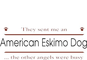 American Eskimo Dog T-Shirt - Other Angels