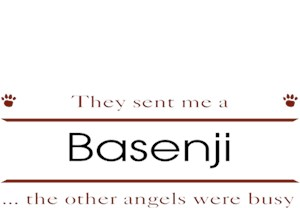 Basenji T-Shirt - Other Angels