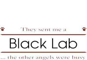 Black Lab T-Shirt - Other Angels