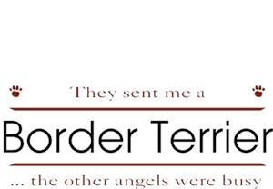 Border Terrier T-Shirt - Other Angels
